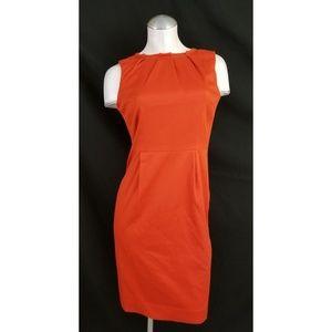 Banana Republic Size 2 Orange Sleeveless Dress